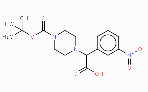 2-(4-Boc-piperazinyl)-2-(3-nitro-phenyl)acetic acid