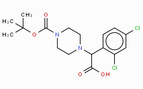 2-(4-Boc-piperazinyl)-2-(2,4-dichloro-phenyl)acetic acid
