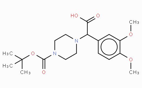 2-(4-Boc-piperazinyl)-2-(3,4-dimethoxy-phenyl)acetic acid