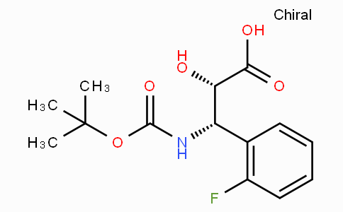 N-Boc-(2S,3S)-3-Amino-3-(2-fluoro-phenyl)-2-hydroxy-propionic acid