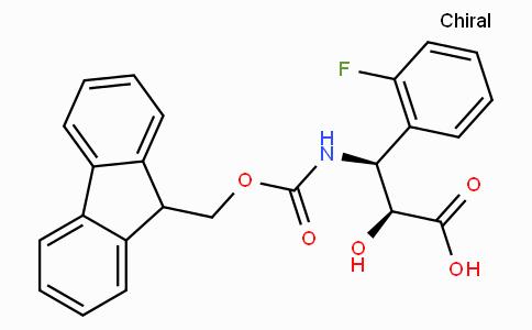 N-Fmoc-(2S,3S)-3-Amino-3-(2-fluoro-phenyl)-2-hydroxy-propionic acid
