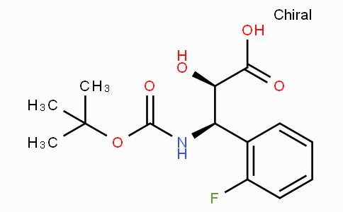 N-Boc-(2R,3R)-3-Amino-3-(2-fluoro-phenyl)-2-hydroxy-propionic acid