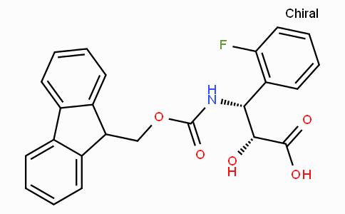 N-Fmoc-(2R,3R)-3-Amino-3-(2-fluoro-phenyl)-2-hydroxy-propionic acid