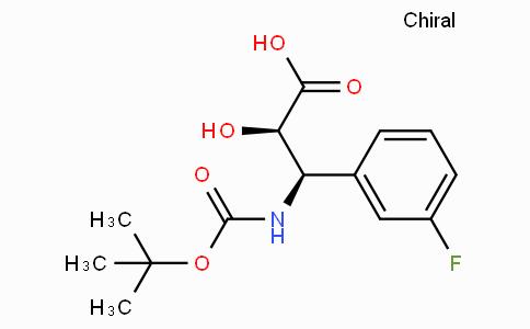 N-Boc-(2R,3R)-3-Amino-3-(3-fluoro-phenyl)-2-hydroxy-propionic acid