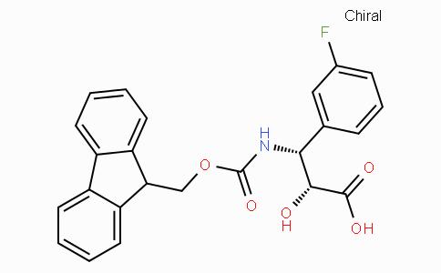 N-Fmoc-(2R,3R)-3-Amino-3-(3-fluoro-phenyl)-2-hydroxy-propionic acid
