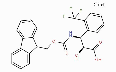 N-Fmoc-(2S,3S)-3-Amino-2-hydroxy-3-(2-trifluoromethyl-phenyl)-propionic acid