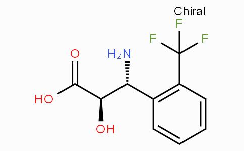 (2R,3R)-3-Amino-2-hydroxy-3-(2-trifluoromethyl-phenyl)-propionic acid
