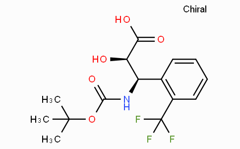 N-Boc-(2R,3R)-3-Amino-2-hydroxy-3-(2-trifluoromethyl-phenyl)-propionic acid