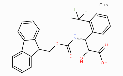 N-Fmoc-(2R,3R)-3-Amino-2-hydroxy-3-(2-trifluoromethyl-phenyl)-propionic acid