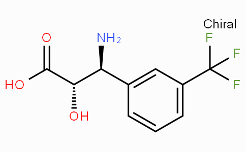 (2S,3S)-3-Amino-2-hydroxy-3-(3-trifluoromethyl-phenyl)-propionic acid