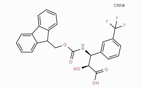 N-Fmoc-(2S,3S)-3-Amino-2-hydroxy-3-(3-trifluoromethyl-phenyl)-propionic acid