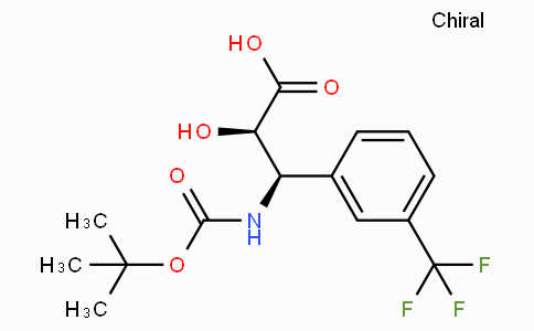 N-Boc-(2R,3R)-3-Amino-2-hydroxy-3-(3-trifluoromethyl-phenyl)-propionic acid