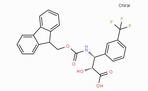 N-Fmoc-(2R,3R)-3-Amino-2-hydroxy-3-(3-trifluoromethyl-phenyl)-propionic acid