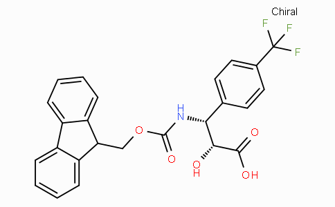 N-Fmoc-(2R,3R)-3-Amino-2-hydroxy-3-(4-trifluoromethyl-phenyl)-propionic acid