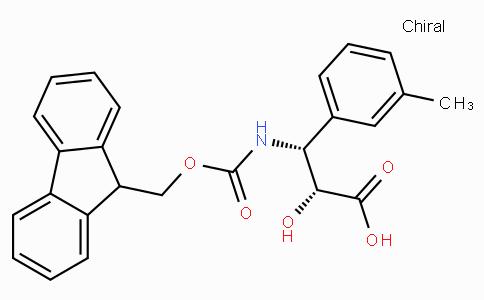 N-Fmoc-(2R,3R)-3-Amino-2-hydroxy-3-m-tolyl-propionic acid