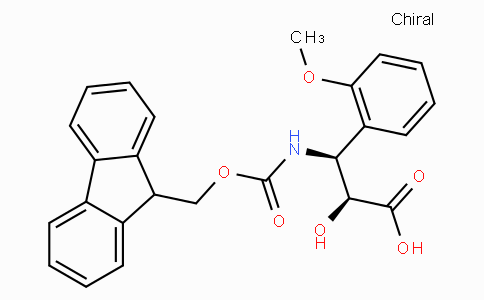 N-Fmoc-(2S,3S)-3-Amino-2-hydroxy-3-(2-methoxy-phenyl)-propionic acid