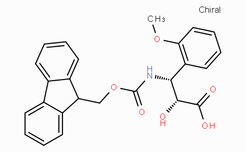 N-Fmoc-(2R,3R)-3-Amino-2-hydroxy-3-(2-methoxy-phenyl)-propionic acid