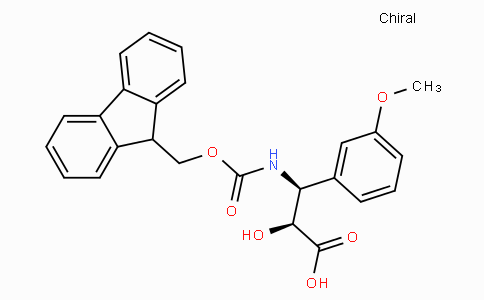 N-Fmoc-(2S,3S)-3-Amino-2-hydroxy-3-(3-methoxy-phenyl)-propionic acid