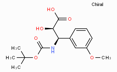 N-Boc-(2R,3R)-3-Amino-2-hydroxy-3-(3-methoxy-phenyl)-propionic acid