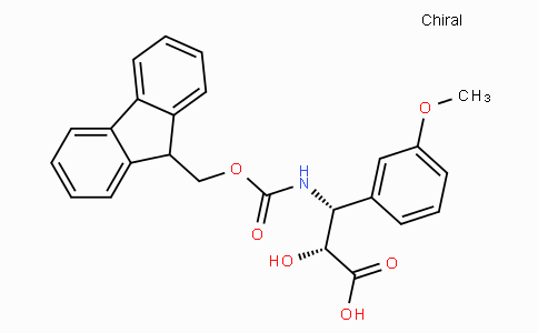 N-Fmoc-(2R,3R)-3-Amino-2-hydroxy-3-(3-methoxy-phenyl)-propionic acid