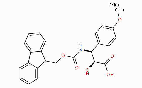 N-Fmoc-(2S,3S)-3-Amino-2-hydroxy-3-(4-methoxy-phenyl)-propionic acid