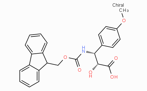 N-Fmoc-(2R,3R)-3-Amino-2-hydroxy-3-(4-methoxy-phenyl)-propionic acid