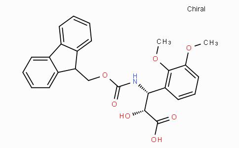 N-Fmoc-(2R,3R)-3-Amino-2-hydroxy-3-(2,3-dimethoxy-phenyl)-propionic acid