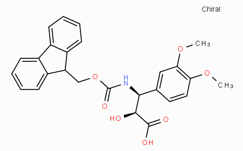 N-Fmoc-(2S,3S)-3-Amino-2-hydroxy-3-(3,4-dimethoxy-phenyl)-propionic acid