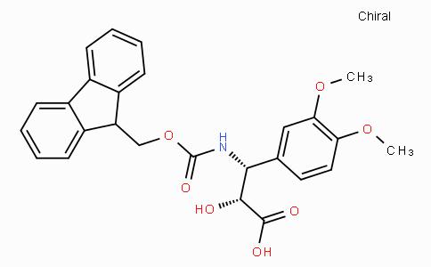 N-Fmoc-(2R,3R)-3-Amino-2-hydroxy-3-(3,4-dimethoxy-phenyl)-propionic acid