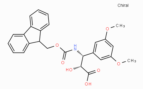 N-Fmoc-(2R,3R)-3-Amino-2-hydroxy-3-(3,5-dimethoxy-phenyl)-propionic acid
