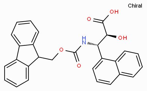 N-Fmoc-(2S,3S)-3-Amino-2-hydroxy-3-naphthalen-1-yl-propionic acid