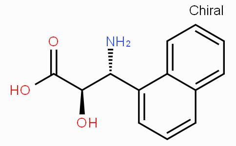 (2R,3R)-3-Amino-2-hydroxy-3-naphthalen-1-yl-propionic acid