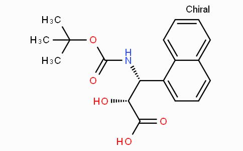 N-Boc-(2R,3R)-3-Amino-2-hydroxy-3-naphthalen-1-yl-propionic acid