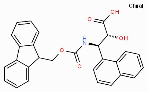 N-Fmoc-(2R,3R)-3-Amino-2-hydroxy-3-naphthalen-1-yl-propionic acid