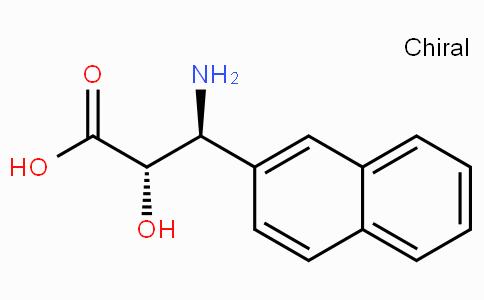 (2S,3S)-3-Amino-2-hydroxy-3-naphthalen-2-yl-propionic acid