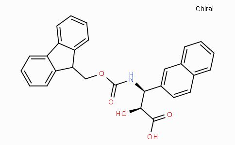 N-Fmoc-(2S,3S)-3-Amino-2-hydroxy-3-naphthalen-2-yl-propionic acid