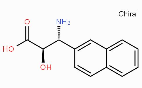 (2R,3R)-3-Amino-2-hydroxy-3-naphthalen-2-yl-propionic acid