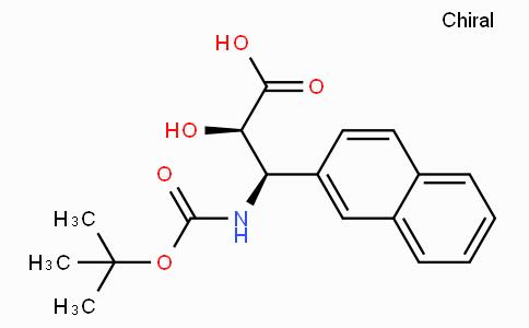 N-Boc-(2R,3R)-3-Amino-2-hydroxy-3-naphthalen-2-yl-propionic acid