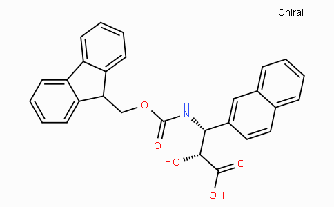 N-Fmoc-(2R,3R)-3-Amino-2-hydroxy-3-naphthalen-2-yl-propionic acid