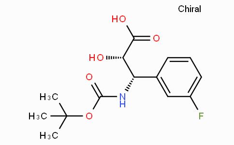N-Boc-(2S,3S)-3-Amino-3-(3-fluoro-phenyl)-2-hydroxy-propionic acid