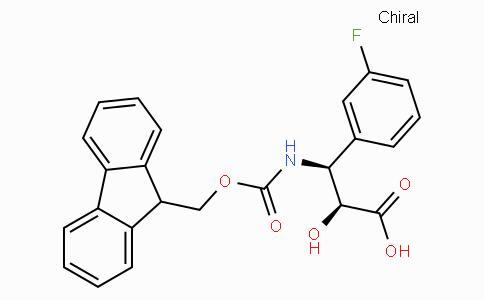 N-Fmoc-(2S,3S)-3-Amino-3-(3-fluoro-phenyl)-2-hydroxy-propionic acid