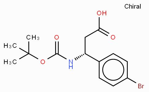 Boc-(R)-3-Amino-3-(4-bromo-phenyl)-propionic acid