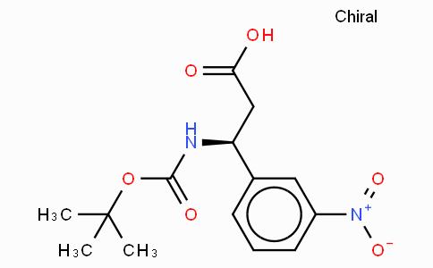 Boc-(S)-3-Amino-3-(3-nitro-phenyl)-propionic acid