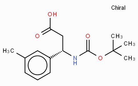 Boc-(S)-3-Amino-3-(3-methyl-phenyl)-propionic acid