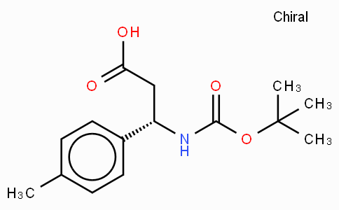 Boc-(S)-3-Amino-3-(4-methyl-phenyl)-propionic acid