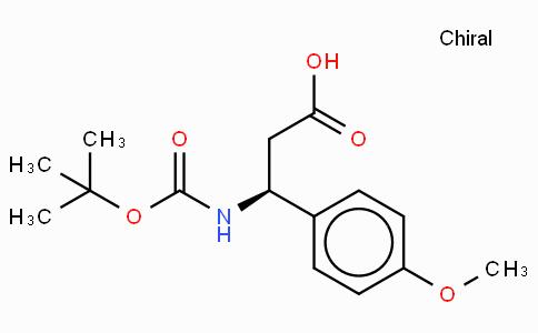 Boc-(S)-3-Amino-3-(4-methoxy-phenyl)-propionic acid