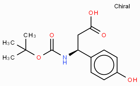 Boc-(S)-3-Amino-3-(4-hydroxy-phenyl)-propionic acid
