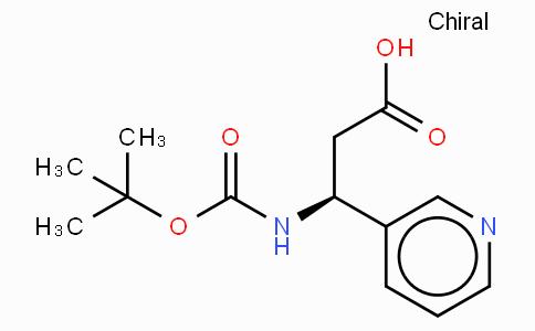 Boc-(S)-3-Amino-3-(3-pyridyl)-propionic acid