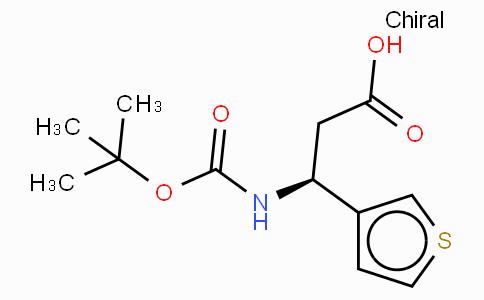 Boc-(S)-3-Amino-3-(3-thienyl)-propionic acid