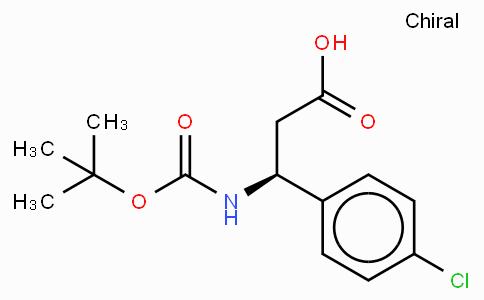 Boc-(S)-3-Amino-3-(4-chloro-phenyl)-propionic acid
